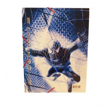 Pocket plastic Spiderman A4