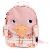 Mütterlicher Samtrucksack Les Déglingos 25 CM