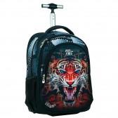 Sac à dos à roulettes No Fear Tigre 48 CM - Cartable