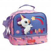 Fisher Price Panda - Hippo 21 CM - lunch bag