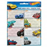 Lot de 16 étiquettes Hot Wheels