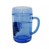 Batman PVC blue water glass