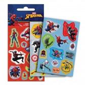 Lot de 36 étiquettes Spiderman