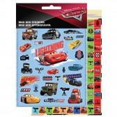 Lot de 600 étiquettes Cars