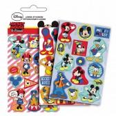 Lot de 42 étiquettes brillantes Mickey et ses amis