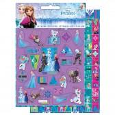 Lot de 600 étiquettes Reine des Neiges - Frozen