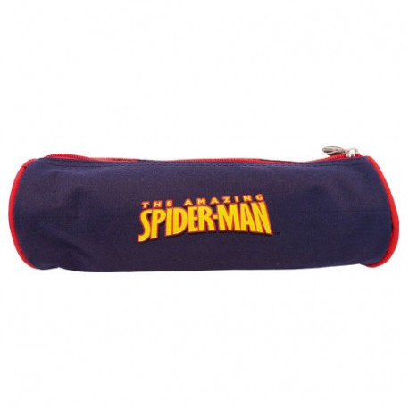 Trousse Spiderman bleu The amazing 23 CM