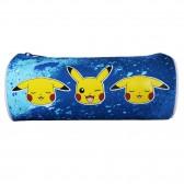 Trousse ronde Pokemon Bleue 22 CM