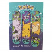 Cahier de textes Pokemon Skate
