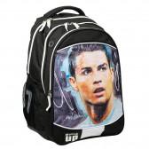Sac a dos Cristiano Ronaldo 48 CM Cartable Football 2 Cpts