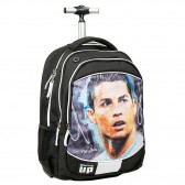 Sac a dos a roulettes Cristiano Ronaldo 48 CM - Football Trolley