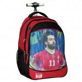Sac à dos à roulettes Football Salah 48 CM - Cartable