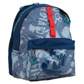 NBA Red Basket Backpack 48 CM - 2 Cpts