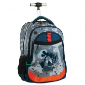 No Fear Tiger 48 CM Wheeled Backpack - Cartable