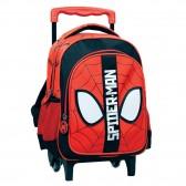 Sac à roulettes maternelle Spiderman 30 CM - Cartable