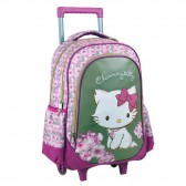 Sac à dos à roulettes Hello Kitty 46 CM - Cartable