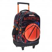 Sac à dos à roulettes Must Basketball 45 CM Trolley Haut de Gamme