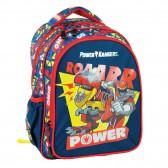Sac à dos maternelle Power Rangers ROAARR - 30 CM