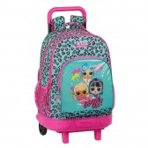 Snow Queen Wheeled Backpack 2 45 CM Trolley Top Of Range - Frozen
