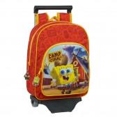Kindergarten Snow Queen Roller Backpack 2 34 CM Trolley Top Of Range - Frozen