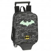 Sac à dos à roulettes Maternelle Batman Night 28 CM Trolley Haut de Gamme