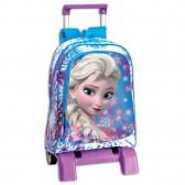 Sac à dos à roulettes Frozen La reine des neiges 43 CM Crystal trolley Haut de Gamme - Cartable