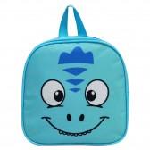 Sac à dos Goûter maternelle Kids Dino Bleu 24 CM