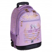 Dreams 47 CM wheeled backpack - Top of the range