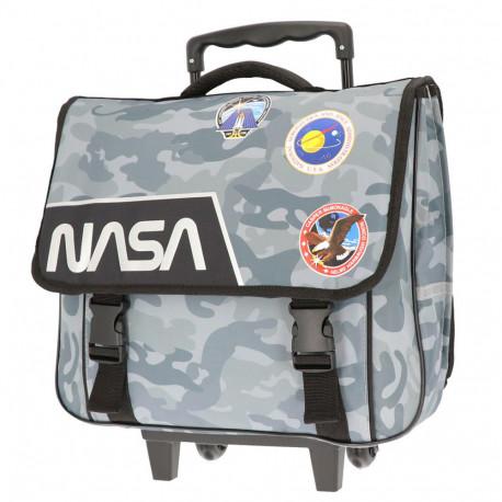 Cartable à roulettes 38 CM NASA