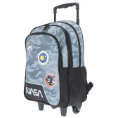 Sac à dos à roulettes NASA 41 CM Haut de gamme