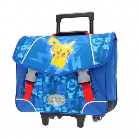 Pokemon Sacha 41 CM Top Range Wheeled Bag