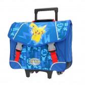 Cartable à roulettes Pokemon Pikachu 41 CM Haut de Gamme