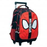Sac à dos à roulettes Spiderman Eyes 43 CM HAUT DE GAMME - Trolley Marvel