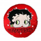 Coussin Betty Boop Coeur Rouge