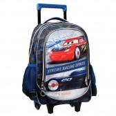 Sac à dos à roulettes Cars Racing 46 CM HAUT DE GAMME - Trolley Disney