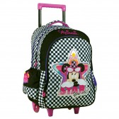 Minnie Star 46 CM Trolley Wheeled Backpack - Cart