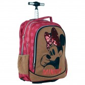 Minnie Suede 46 CM Top-of-the-range backpack - binder