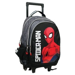 Spiderman Armour 46 CM Trolley Top-of-the-Range Rugzak