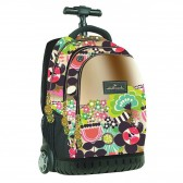 No Fear Tulips 48 CM Wheeled Backpack - Top-of-the-Range Trolley