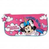 Trousse plate Minnie Mouse Licorne 23 CM