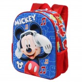 Sac à dos maternelle Mickey Music 3D 31 CM