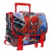 Cartable à roulettes Spiderman 41 CM Trolley haut de gamme