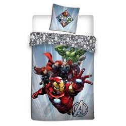 Avengers 140x200 cm duvet cover and pillow taie