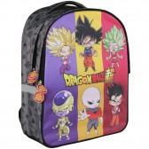 Dragon Ball Super Goku azul 40 CM - 2 mochila de Cpt