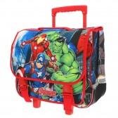 Cartable à roulettes Avengers Trio 41 CM Trolley haut de gamme