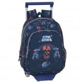 Sac à dos à roulettes Star Wars Death Starth 34 CM Trolley maternelle
