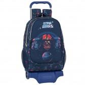 Mochila con ruedas PJ Masks 42 CM - Trolley escolar