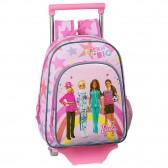 Sac à dos à roulettes Barbie Dreams 34 CM Trolley maternelle
