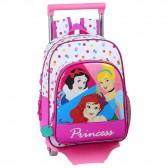 Sac à dos à roulettes Princesses Disney 34 CM Trolley maternelle