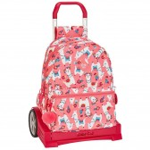 Evolution Princesses Disney 43 CM Trolley Top-of-The-Range Roulette Backpack